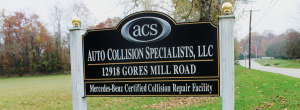 About Auto Collision Specialists | Mercedes Body Shop Baltimore | Collision Repair Reisterstown