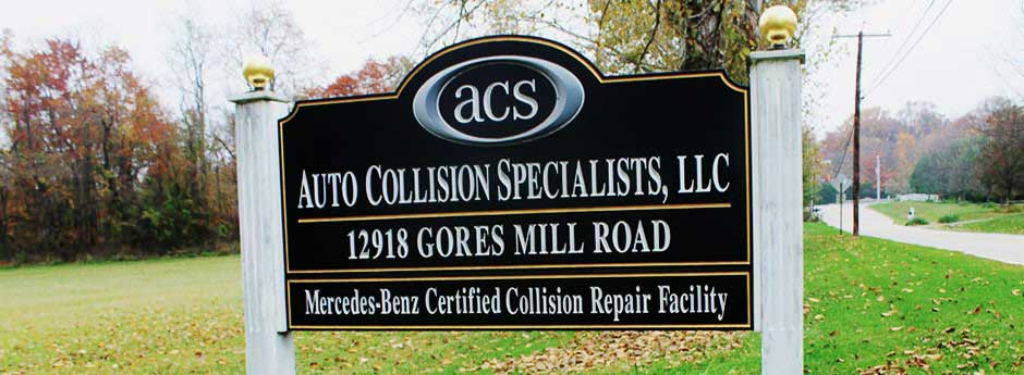Auto Collision Specialists - Auto Body Shop - Baltimore - Reisterstown - Maryland