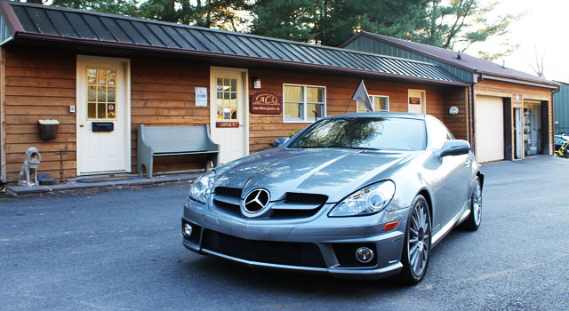 Collision repair maryland baltimore reisterstown for Mercedes benz auto body shop