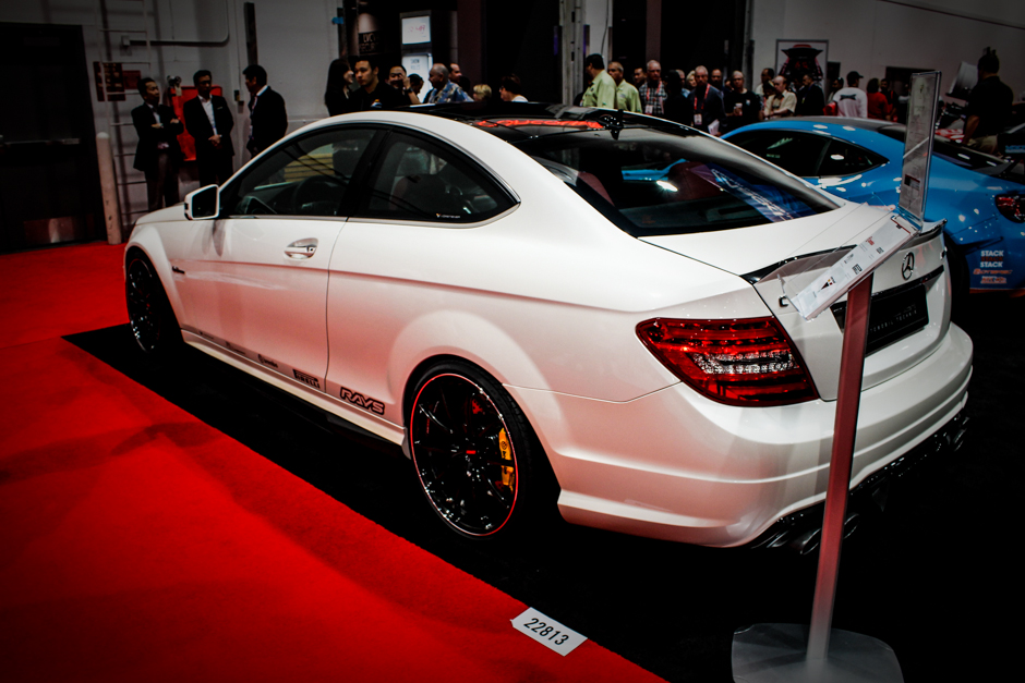 Mercedes-Benz C63 AMG Coupe by Vorsteiner | SEMA 2012 Photo Gallery | Aftermarket Automotive | Collision Repair | Marketing | Social Media Marketing | Baltimore Maryland | Washington DC (1 of 1)
