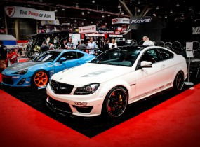 Mercedes-Benz C63 AMG Coupe by Vorsteiner at SEMA 2012