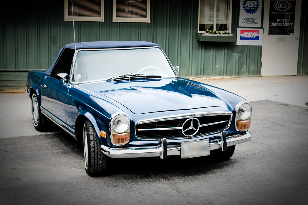 4 surprising things about mercedes benz 280sl w113 pagoda restoration. Black Bedroom Furniture Sets. Home Design Ideas