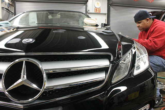 Why does mercedes benz require oem for Mercedes benz auto body shop