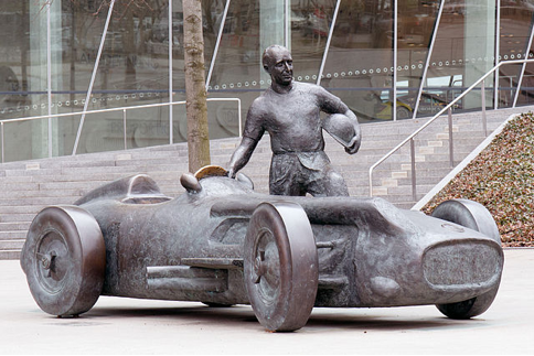 Juan Fangio Mercedes-Benz Race Team