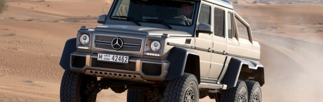 The Crown Beauty Of Mercedes-Benz: G63 AMG 6x6
