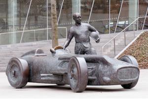 Juan Fangio Mercedes-Benz Race Team