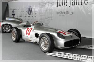 Juan Manuel Fangio Mercedes-Benz Vintage