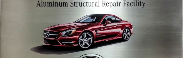 Elite Certified Mercedes Benz Aluminum Structural Repair | Baltimore Maryland
