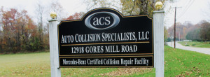 Auto Collision Specialists Porsche Repair - Baltimore, Reisterstown, Owings Mills