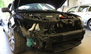 Damaged Honda- Honda Repair