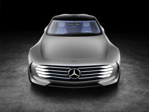 "Mercedes-Benz ""Concept IAA"" (Intelligent Aerodynamic Automobile"