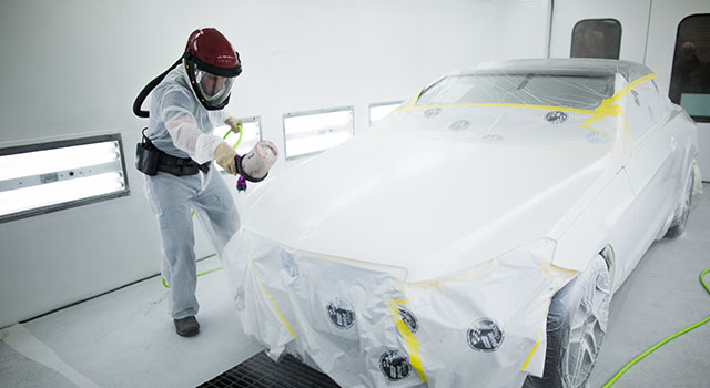 Mercedes Benz Certified Auto Paint Repair - Baltimore Maryland