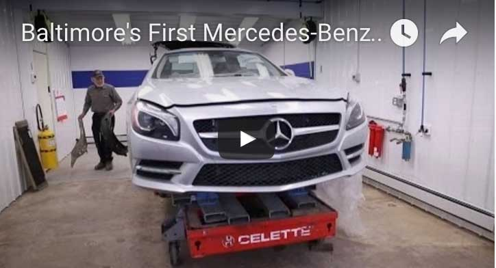 Mercedes Body Shop Baltimore Maryland