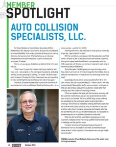 Hammer and Dolly Auto Body Shop Feature Article
